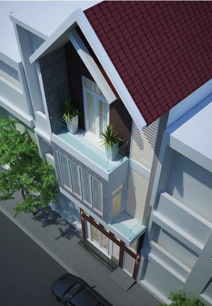 Thước Tầm - Thiết kế thi công nhà phố Long An -Thiết Kế, Thi Công Nội Thất