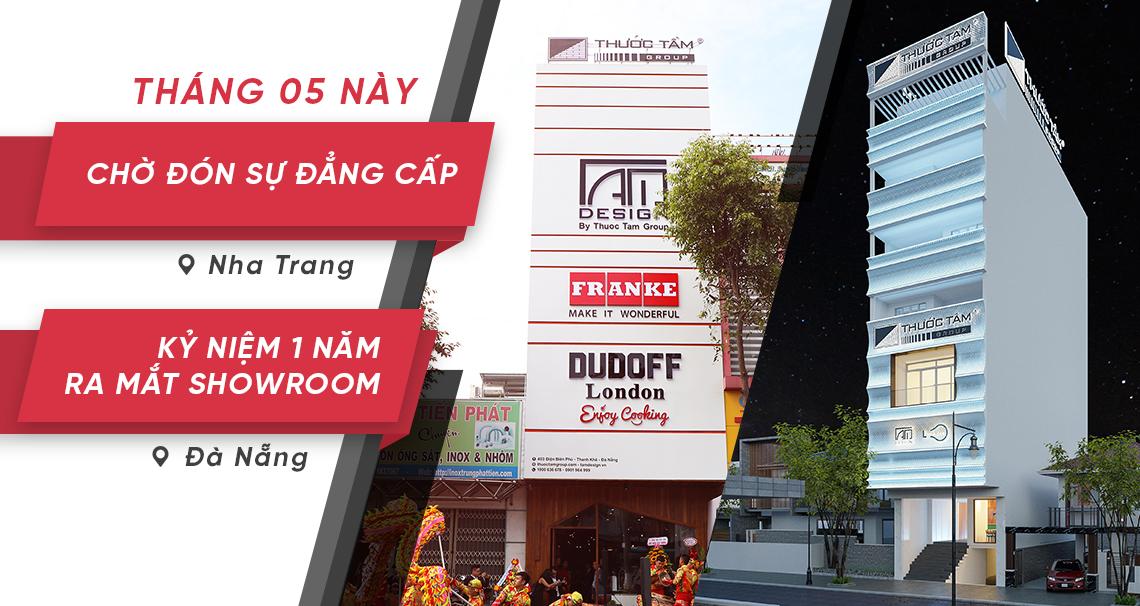 Thước Tầm ra mắt Showroom Nha Trang