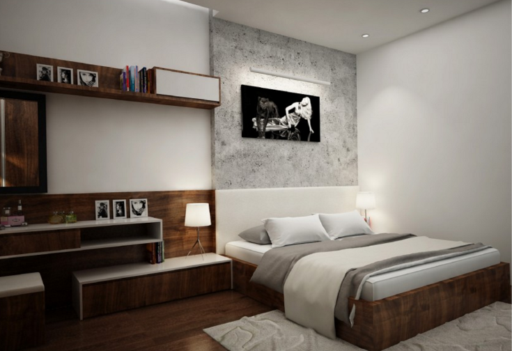 Nội thất phòng ngủ do Thước Tầm thiết kế