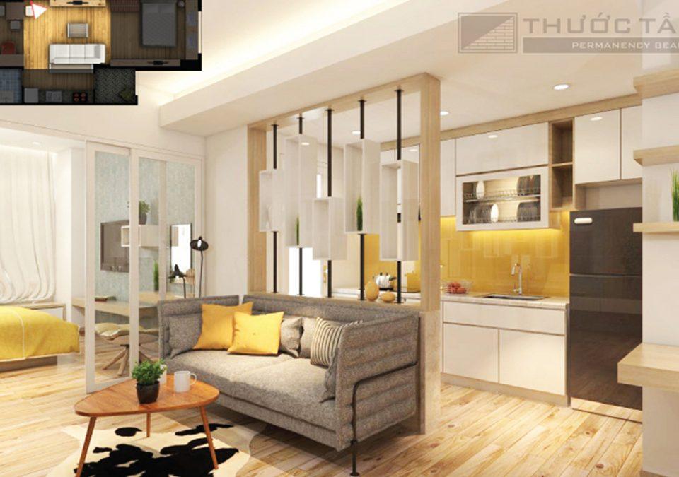 Thiết kế thi công căn hộ chung cư cao cấp lexington