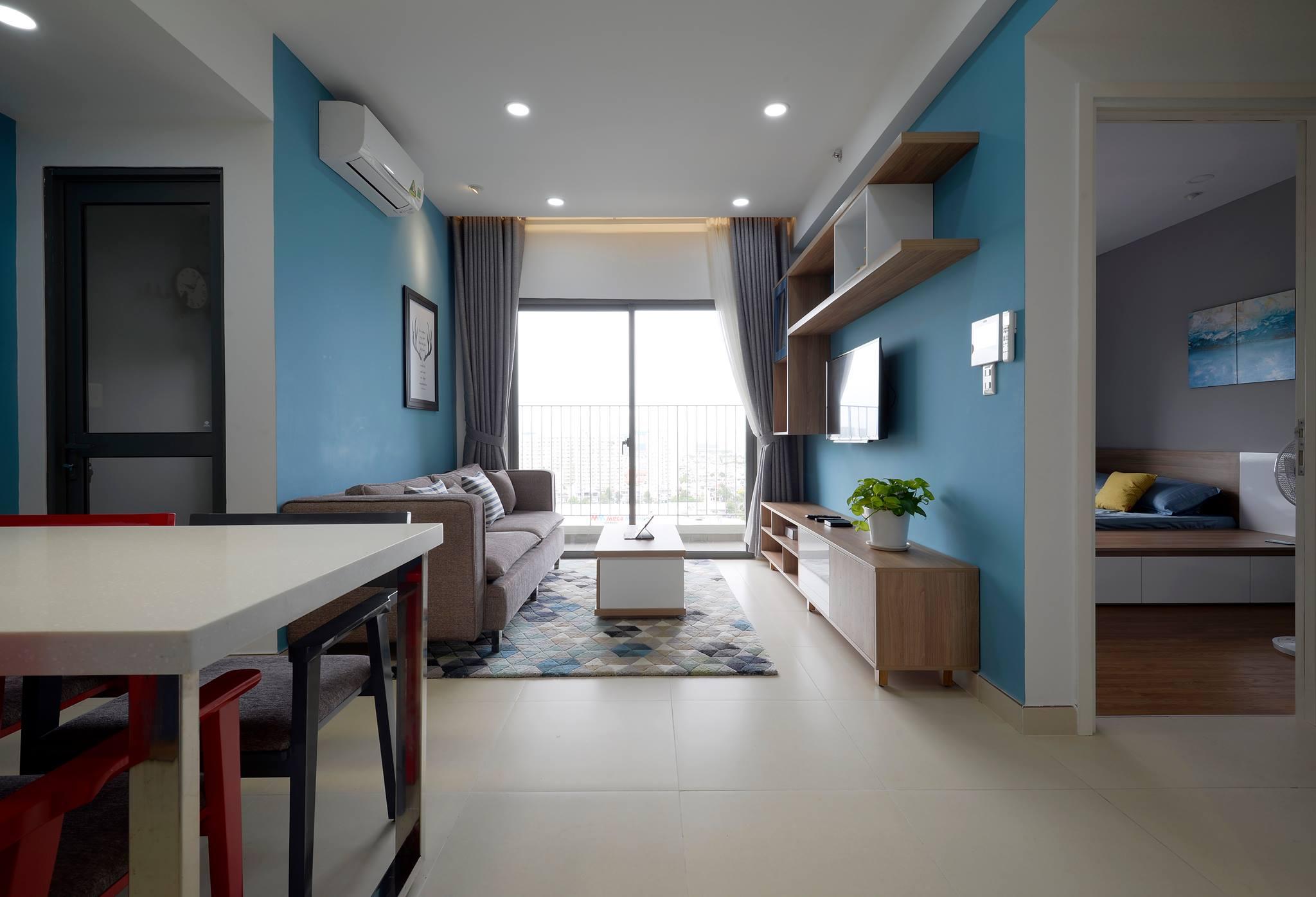 Phối cảnh nội thất căn hộ Masteri