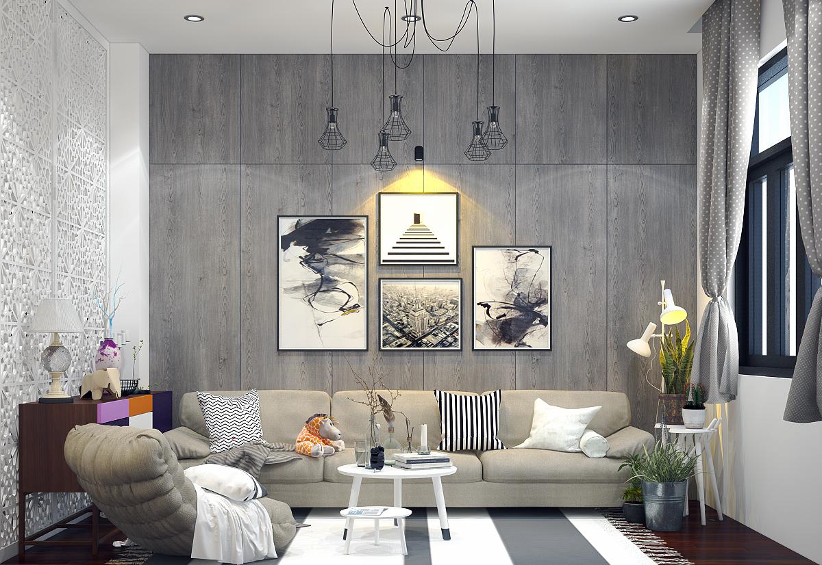 Thiết kế nội thất gam màu trung tính được ưa chuộng nhất hiện nay