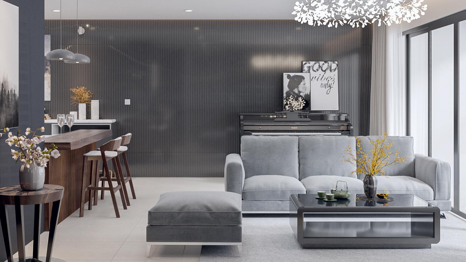 Thước Tầm - thiết kế nội thất căn hộ