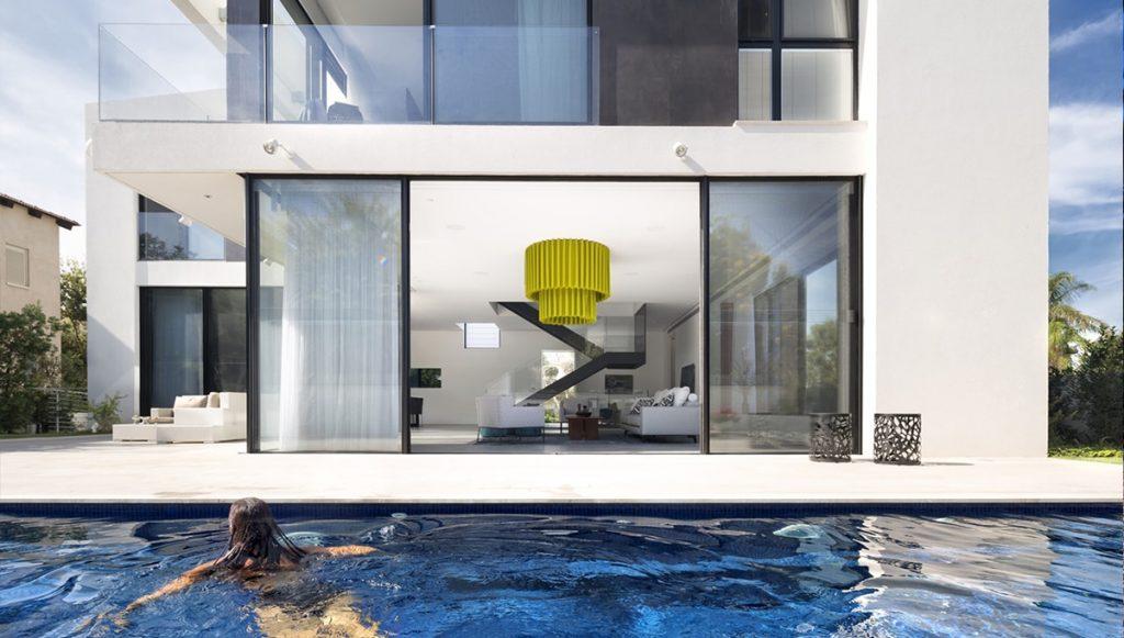 Thiết kế ngoại thất biệt thự phong cách tối giản