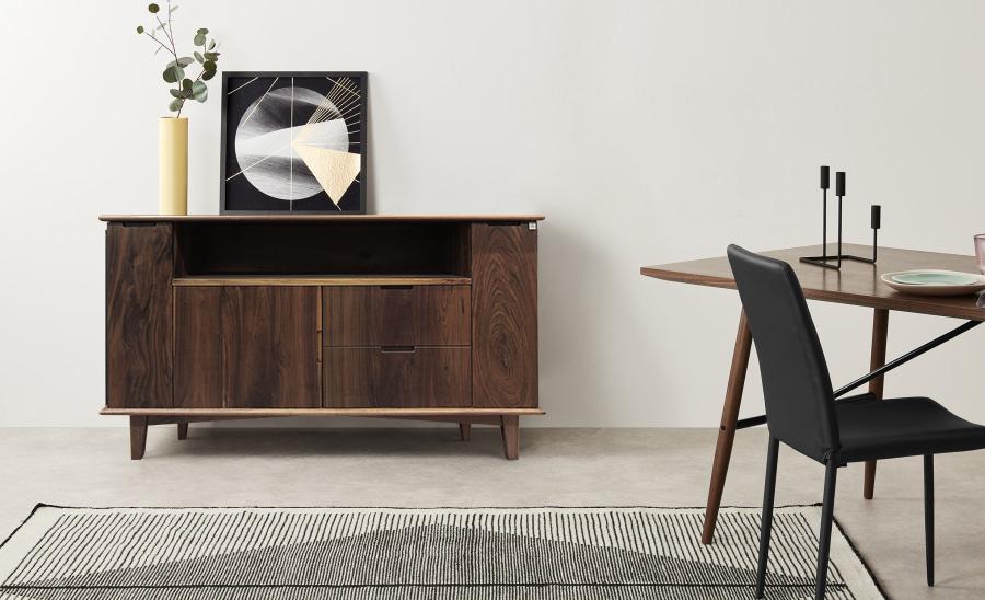 Phong cách thiết kế Mid-Century hiện hữu trong các món đồ nội thất