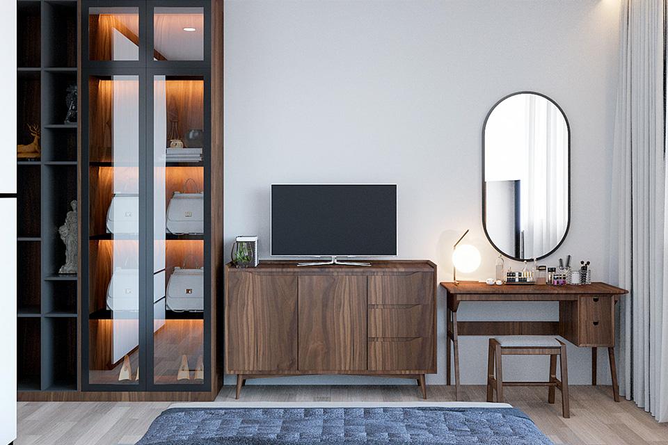 Mẫu nội thất nhà phố hiện đại giúp mọi người cảm thấy vui vẻ hơn