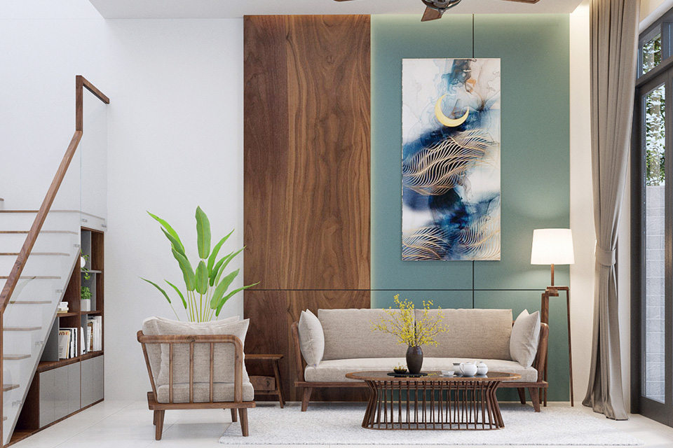 Tối giản vẫn là tiêu chí quan trọng trong thiết kế mẫu nội thất nhà phố hiện đại