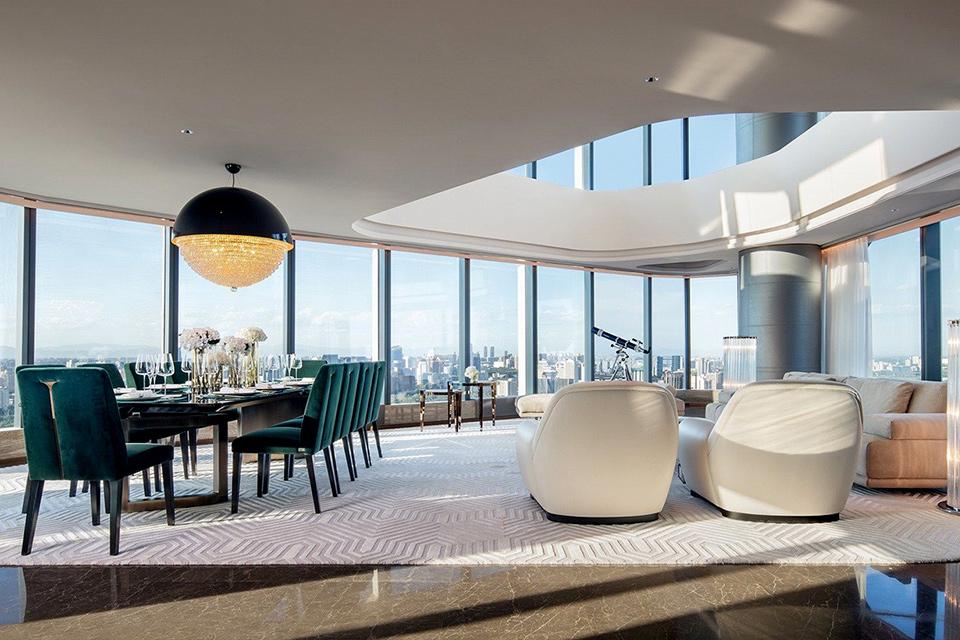 Nội thất căn hộ Penthouse - Căn hộ đẳng cấp trên cao
