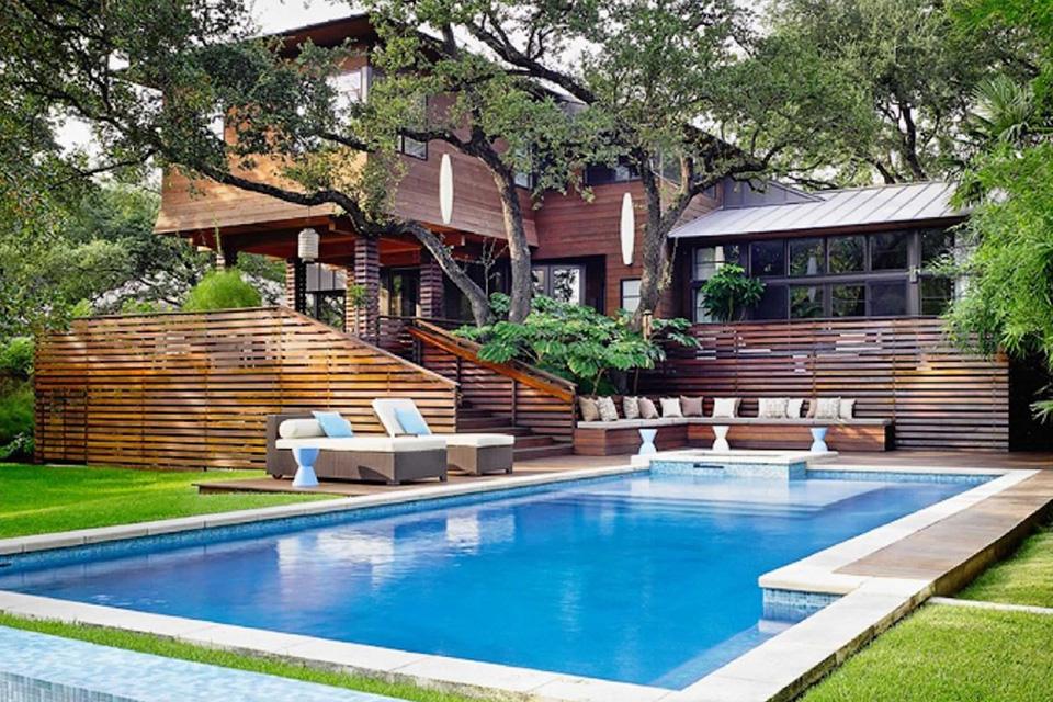 Thiết kế biệt thự có hồ bơi ấn tượng