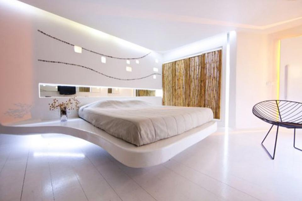 Ý tưởng thiết kế phòng khách sạn đẹp, ứng dụng công nghệ mới
