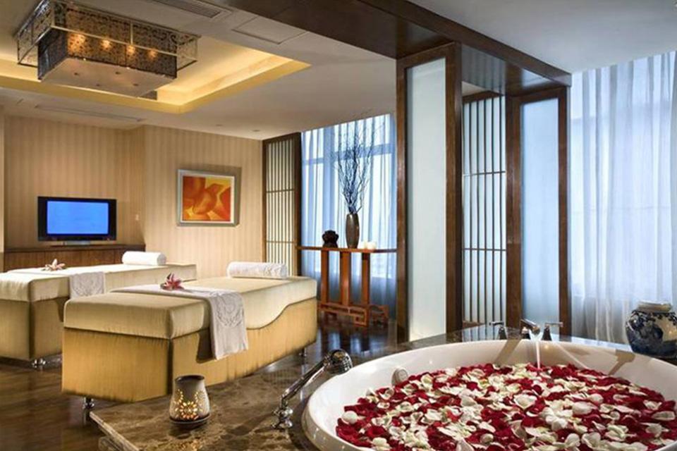 Ý tưởng thiết kế phòng khách sạn đẹp đi kèm với các dịch vụ chăm sóc sức khỏe