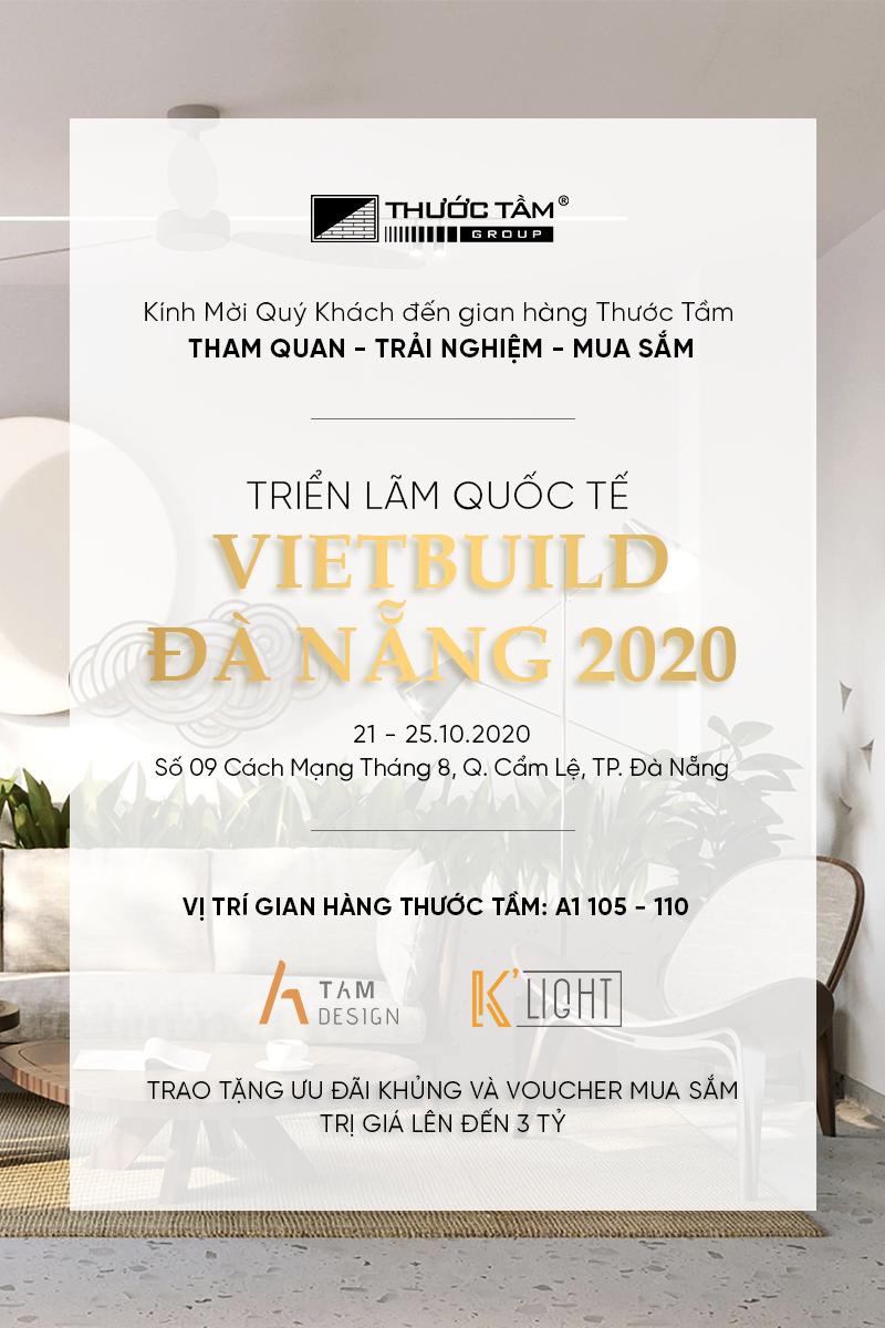 Thư mời Triển lãm Vietbuild Đà Nẵng 2020