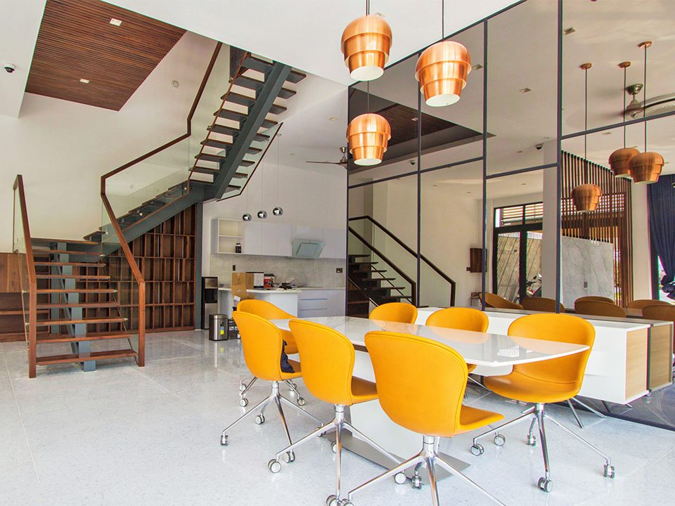 Đặc trưng của thiết kế kiến trúc biệt thự hiện đại chú trọng vào nội thất