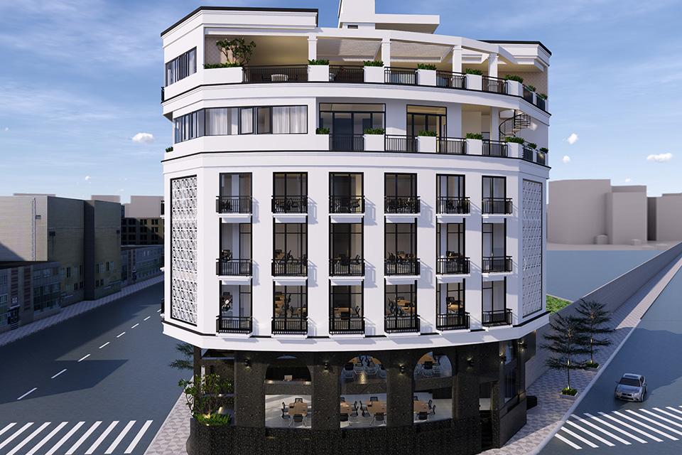 Thiết kế nhà ở kết hợp văn phòng cho thuê mang lại nguồn thu nhập mơ ước