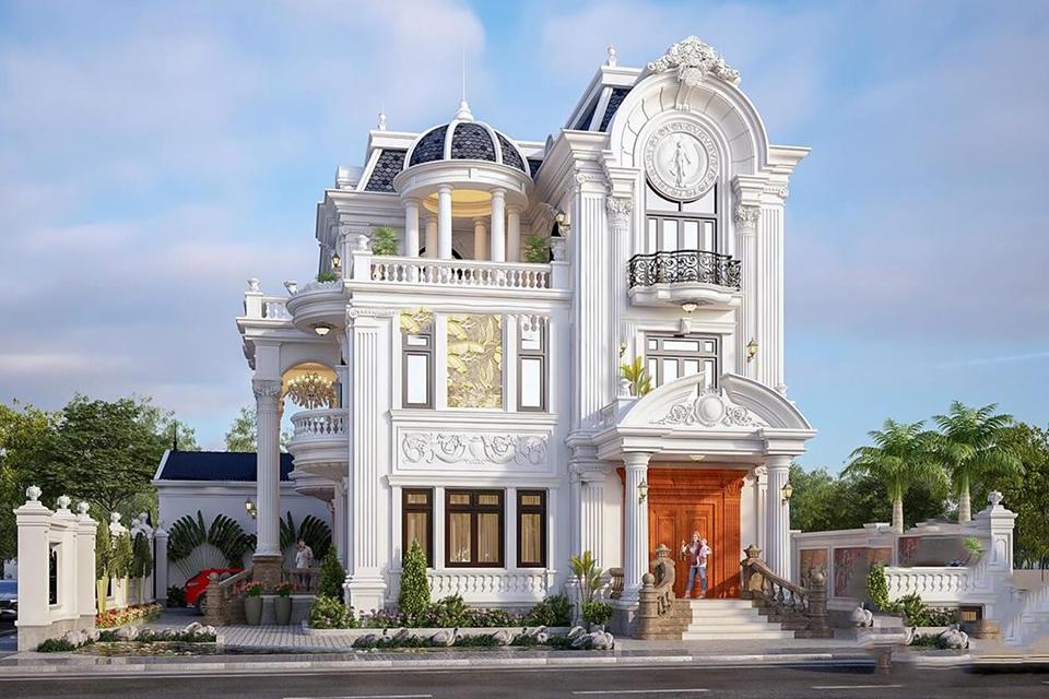 Ý tưởng thiết kế biệt thự phong cách cổ điển