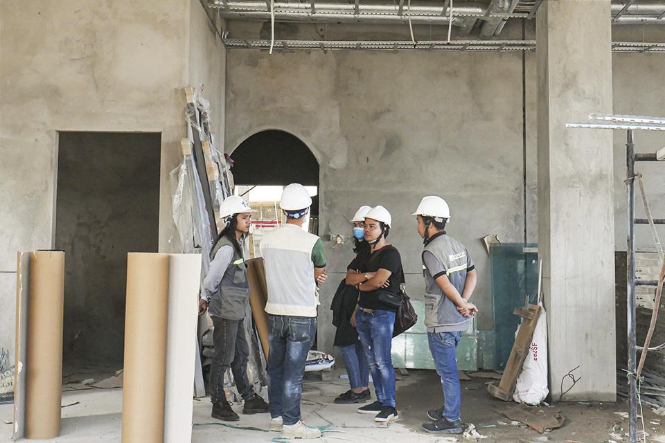 Giám sát quá trình xây dựng nhà ở