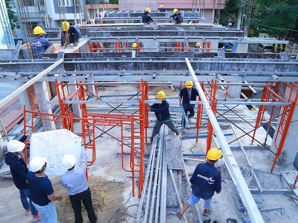 Quy trình xây dựng nhà ở