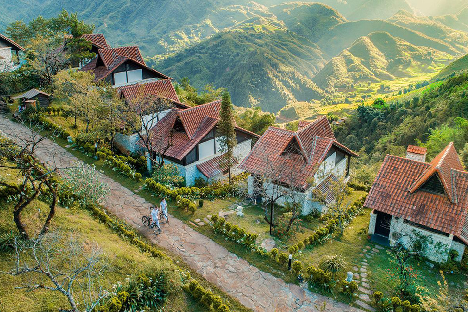 Thiết kế cảnh quan khu resort hòa hợp với thiên nhiên