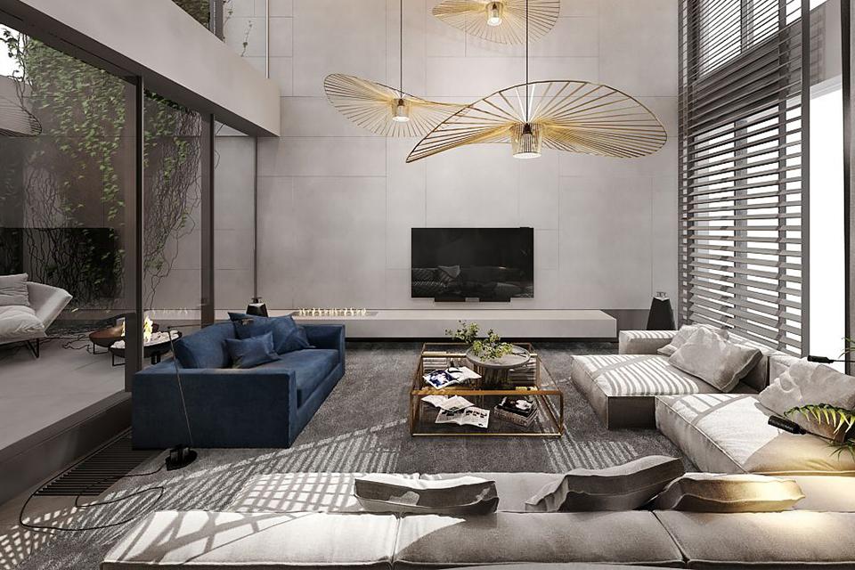 Thiết kế nội thất căn hộ Duplex phong cách Bespoke