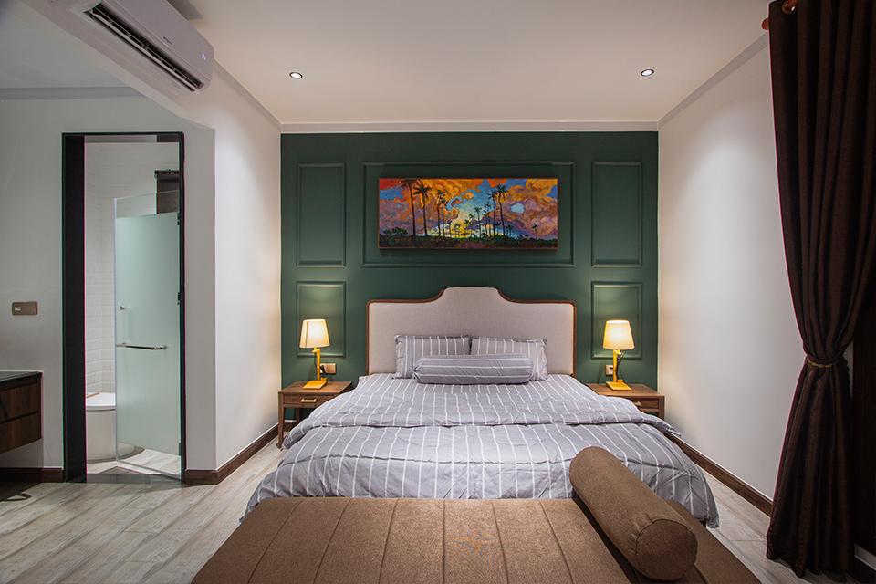 Phòng ngủ 2 Villa Hồ Tràm