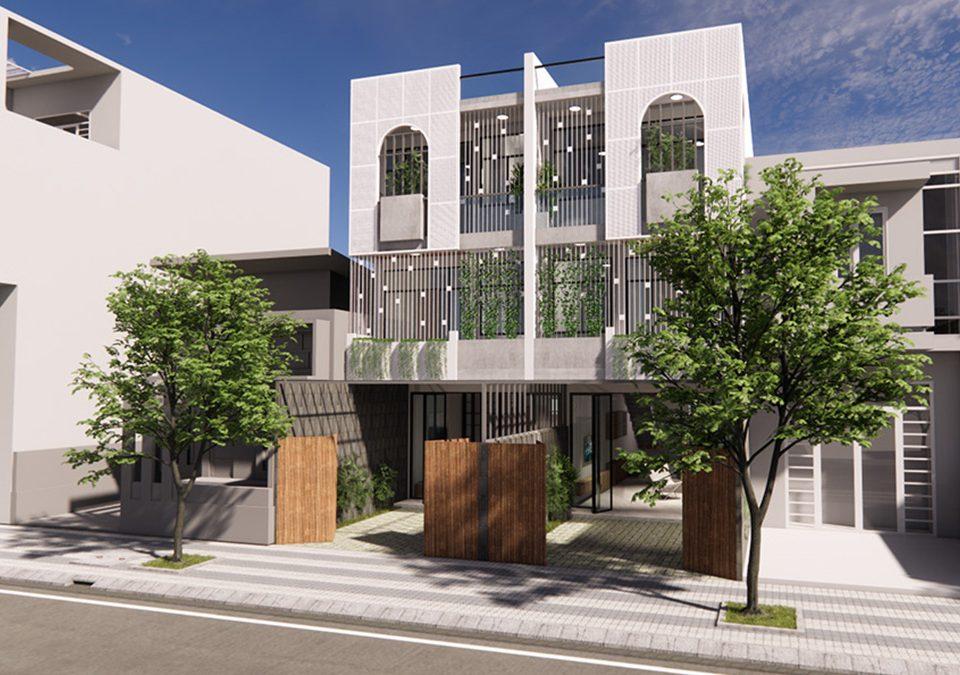 Thiết kế nhà phố song lập - Cách bố trí mặt bằng công trình hiệu quả