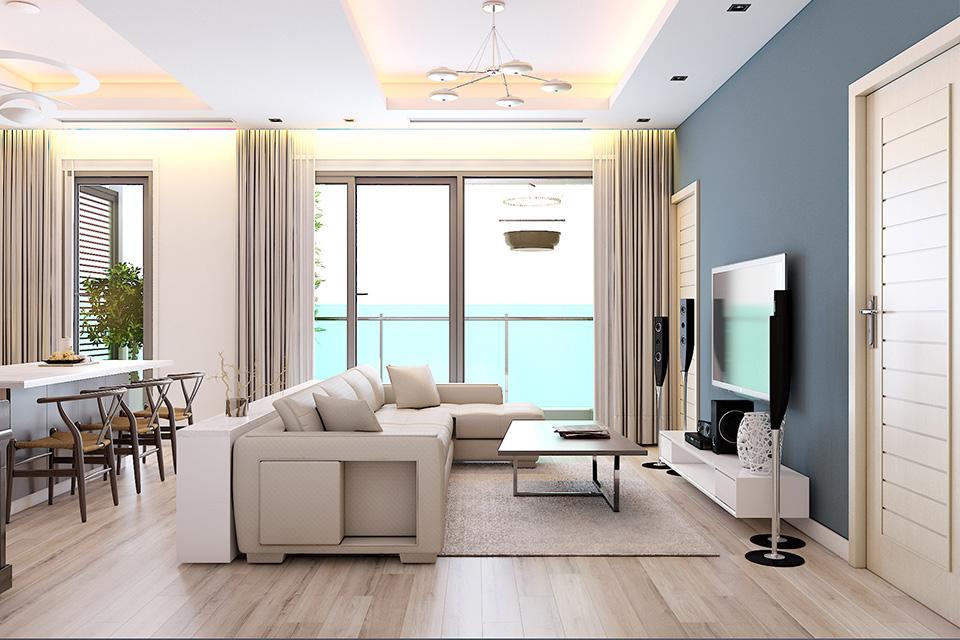 Thiết kế nội thất chung cư cao cấp phong cách hiện đại