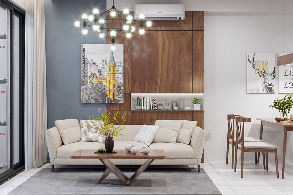 Bật mí một số kinh nghiệm thiết kế nội thất chung cư diện tích nhỏ