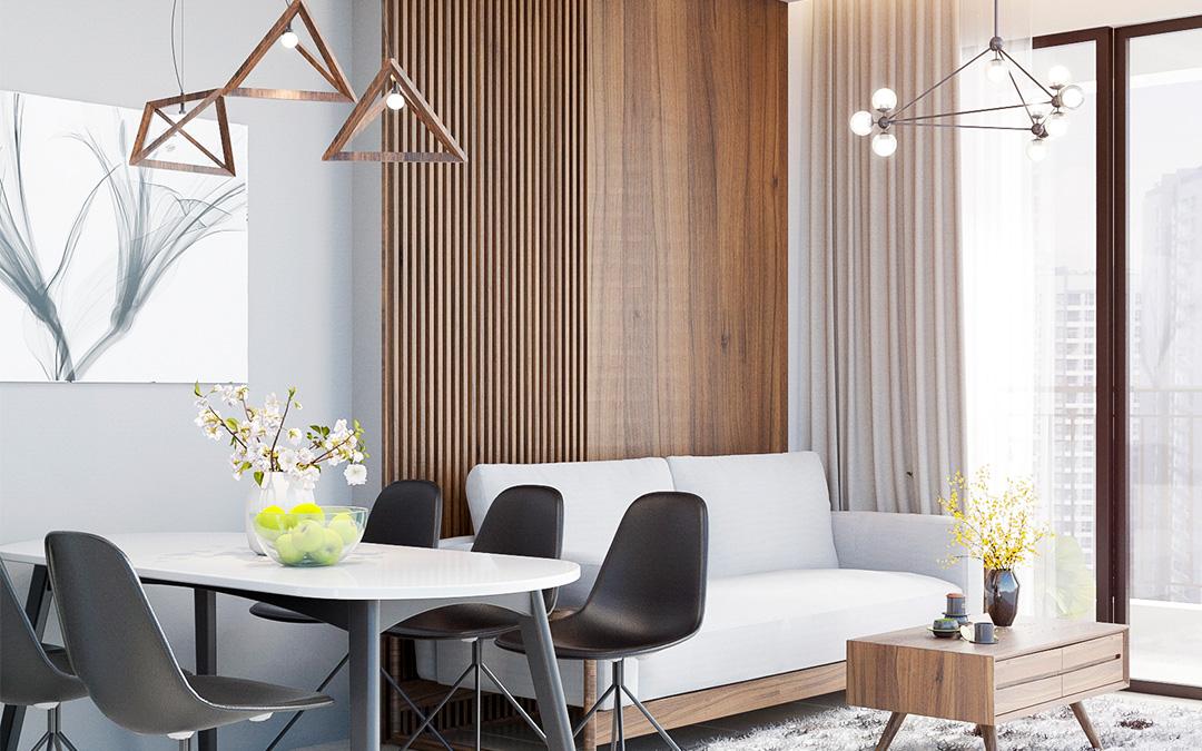Tổng hợp những mẫu thiết kế căn hộ chung cư nhỏ 50m2 đẹp, tiện nghi